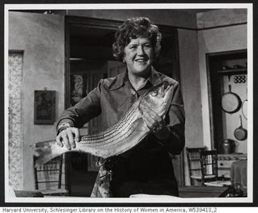 "Julia Child came into the public eye on ""The French Chef,"" a cooking show where the charm was Julia being herself."